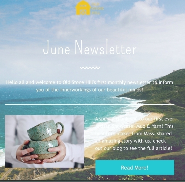 June Newsletter: Exciting news  - oldstonehill | ello