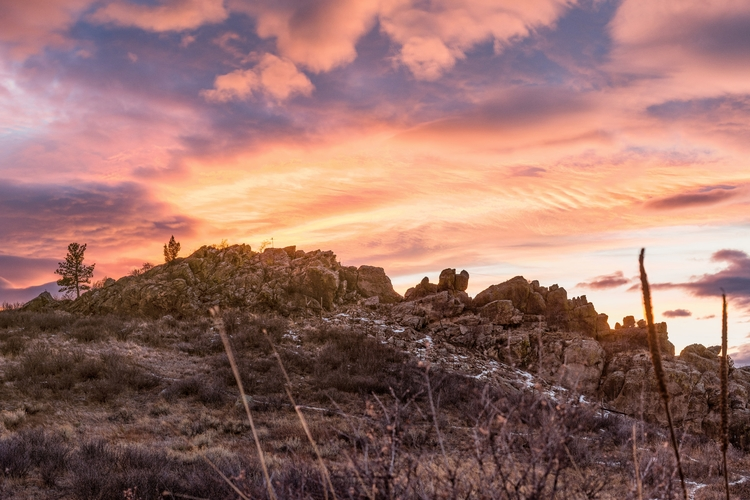 backbone ~ - colorado, sunset, landscape - natecastner | ello