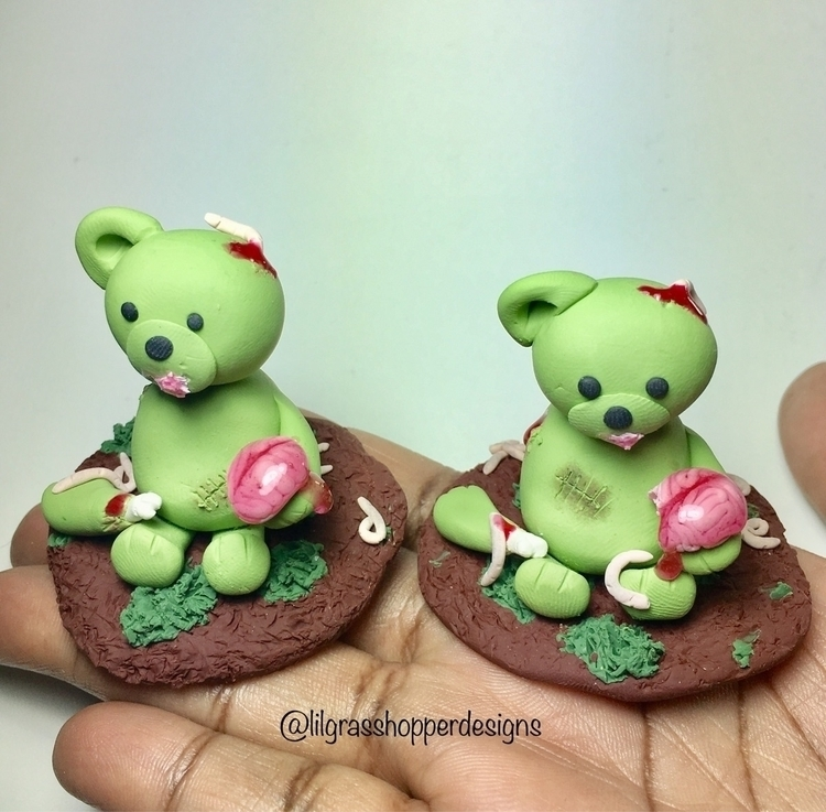 Zombie Bears, work finishing Ga - lilgrasshopperdesigns | ello