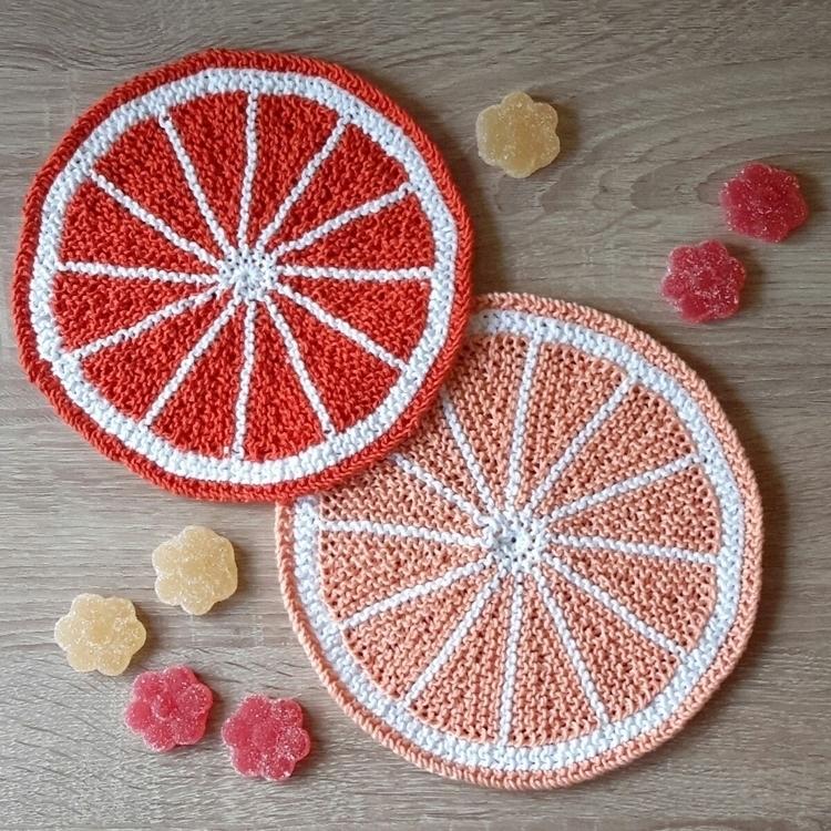 Citrus Fruit Potholders: free p - sybilra | ello