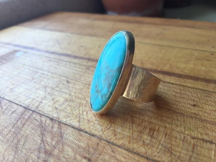 Loving big boy turquoise ring w - silverandthyme | ello