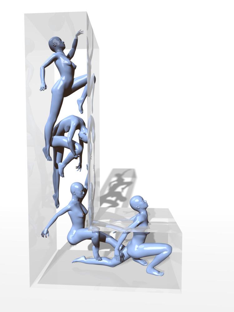 c4d, 3D, typography, ezu, rigging - ezuthe1st | ello