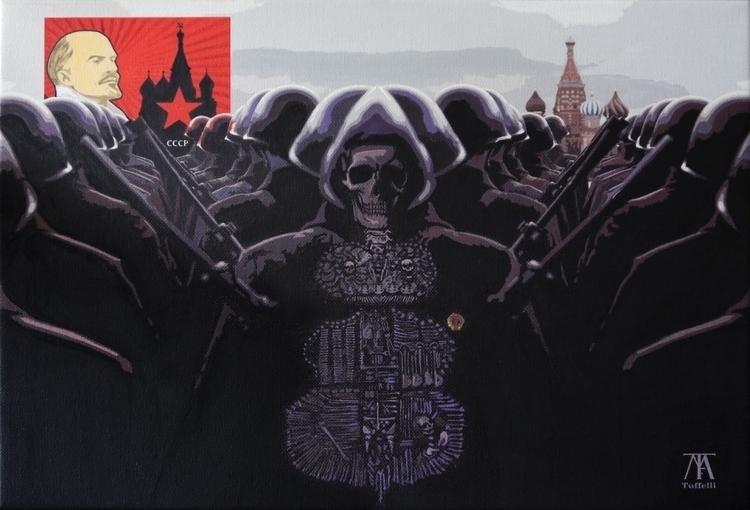 Ideology + power = death Acryli - tuffelli | ello