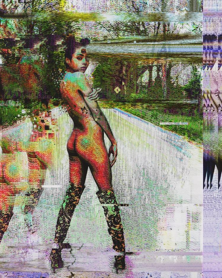 Electric Road - elloart, abstract - cblackmoore | ello