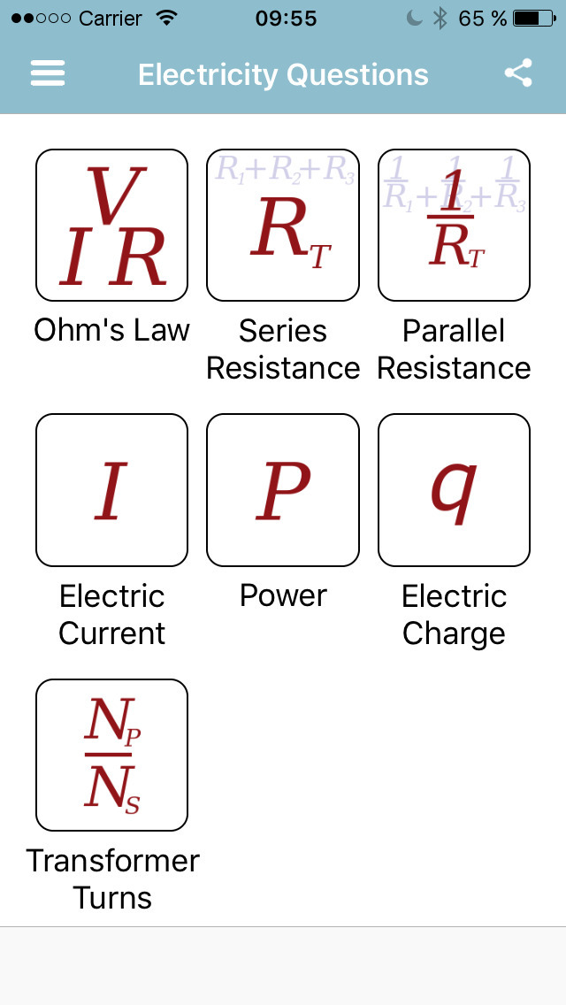 Electricity Questions app iOS A - drmichaeltodd | ello