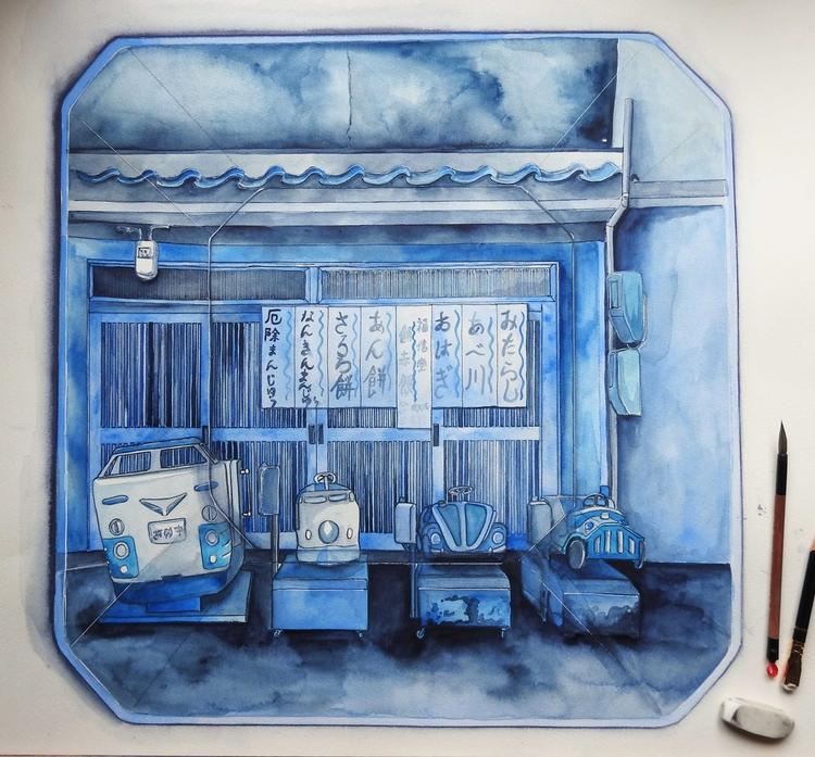 Rides Mochi Shop, Osaka - Imagi - bluebearvendingco | ello