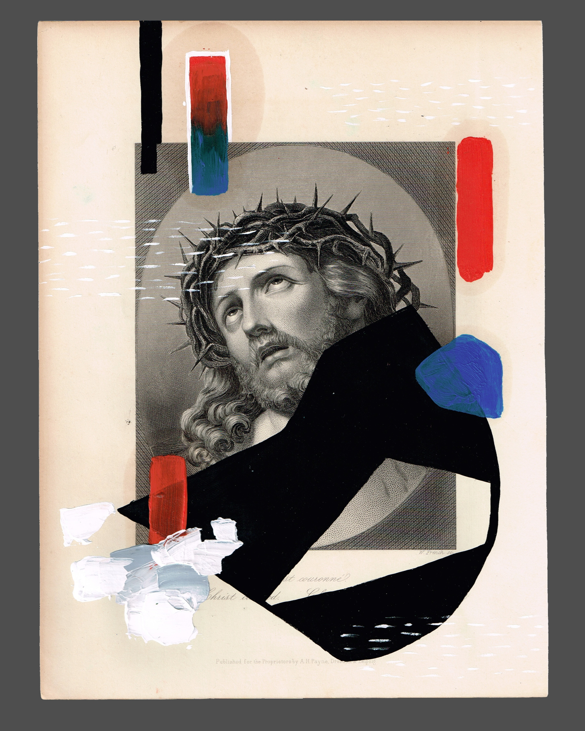 bit messy - jesus, christ, oil, acrylic - missingsock | ello