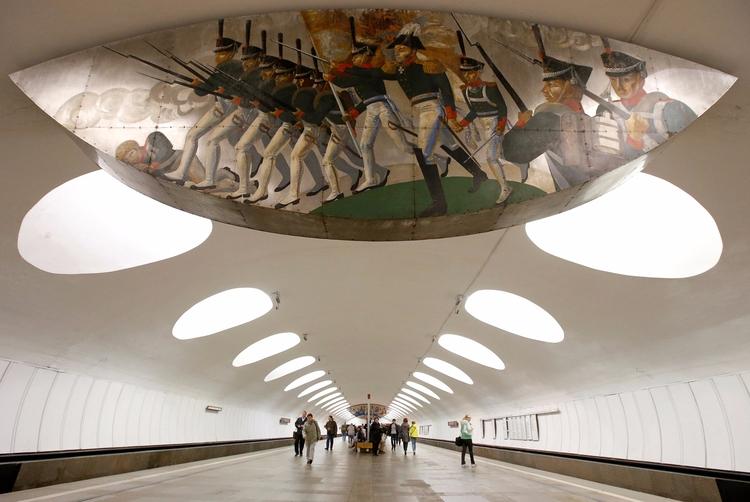 Moscow Metro - metro, decor, moscow - valosalo | ello