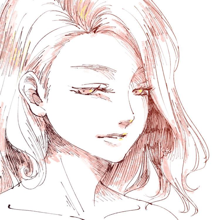 たまには細めのペンでサカサカって描いてみたりもする っていうか - tablesalt | ello