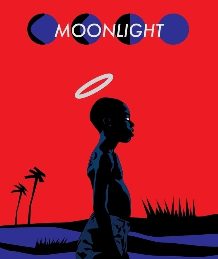 Haiti Moonlit AF - minimal, art - funpowder | ello
