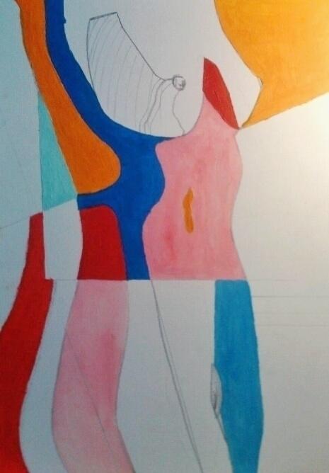 Body colour sketch ///// oil pa - guiart | ello