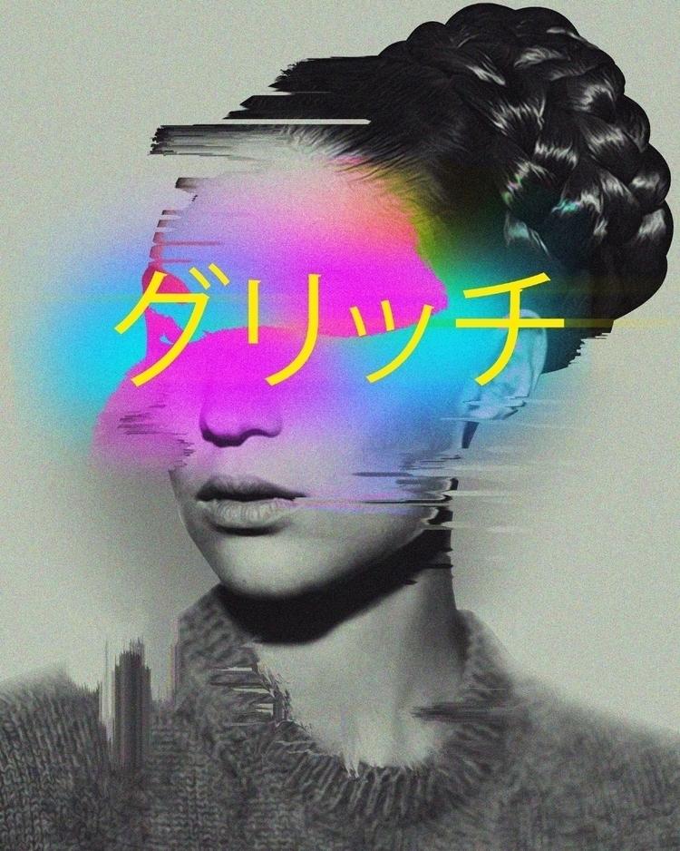 • Glitch Instagram Prints - Abstract - dorianlegret | ello