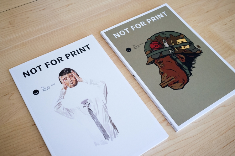 Print Issue 02 — Resist ships w - lucian | ello