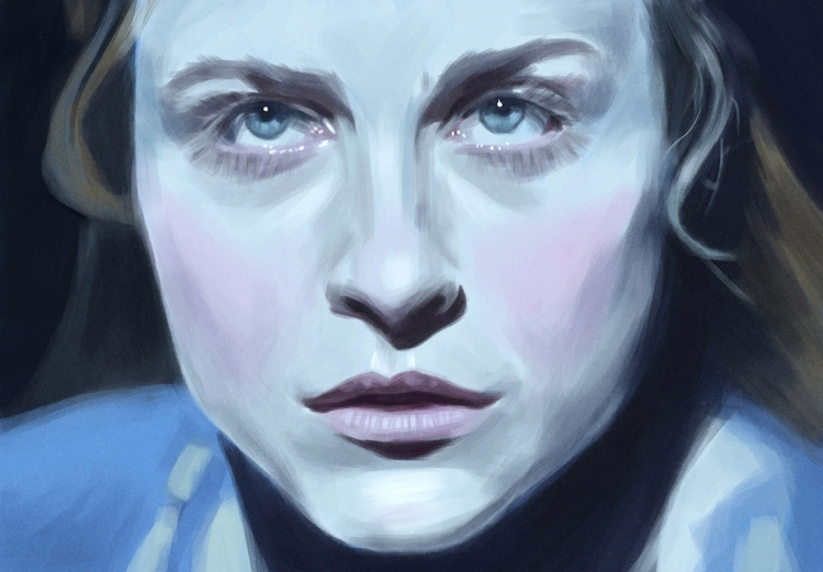 Dolores Abernathy / painting su - mrbraintree | ello