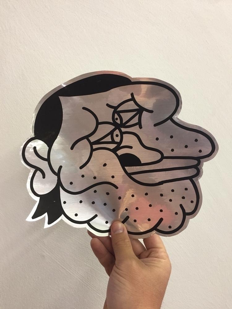 sticker, illustration, design - benefabio | ello