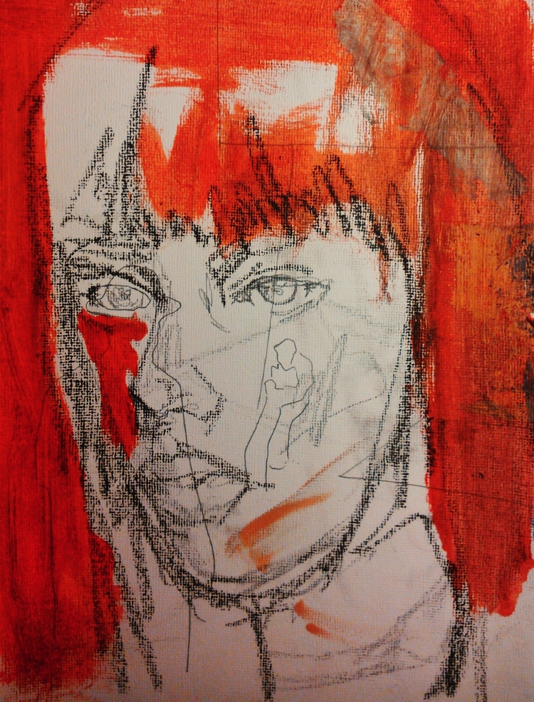 Sketch recycle ///// oil paper  - guiart | ello