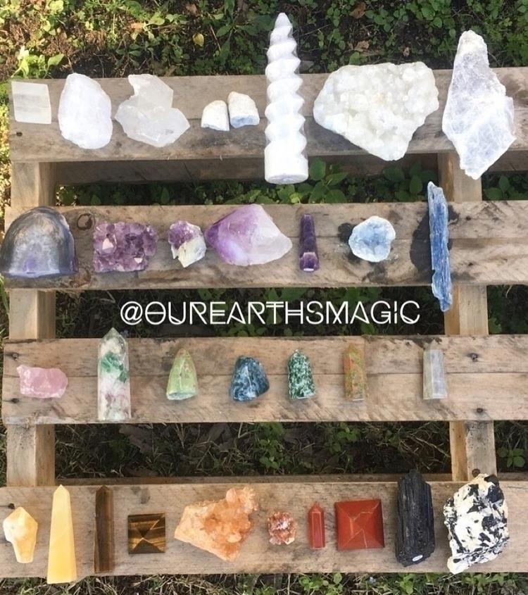 Beautiful Crystal Goodness:hear - ourearthsmagic | ello