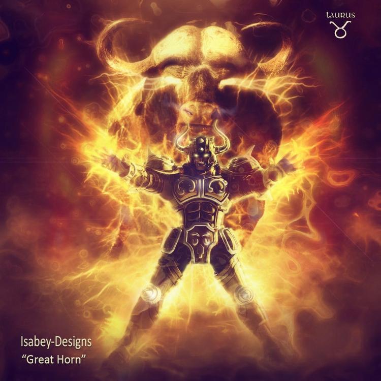 Taurus-Great Horn - armor, fanart - samthaisabey | ello