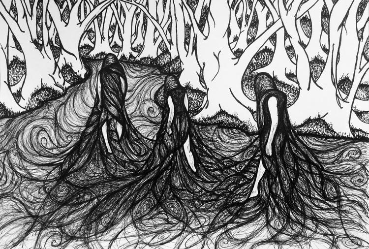 Instagram - ink, sketch, illustration - inklining | ello