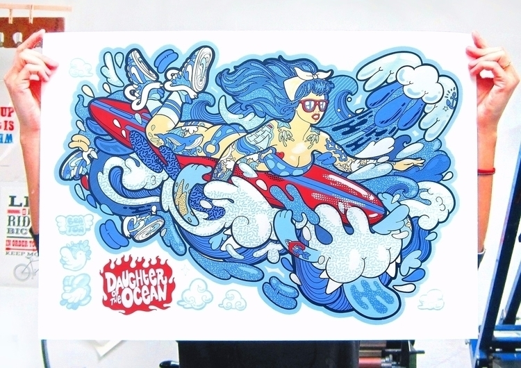 Daughter Ocean Original handmad - beatoa | ello