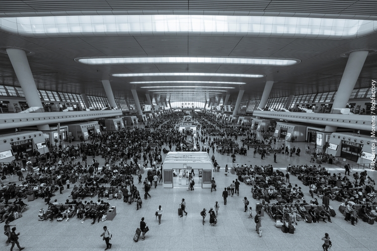 Hangzhou Train Terminal, China - robfactory   ello