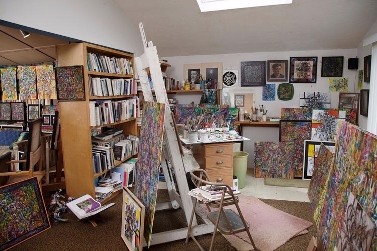 Harold studio - abstractexpressionism - zislaart | ello