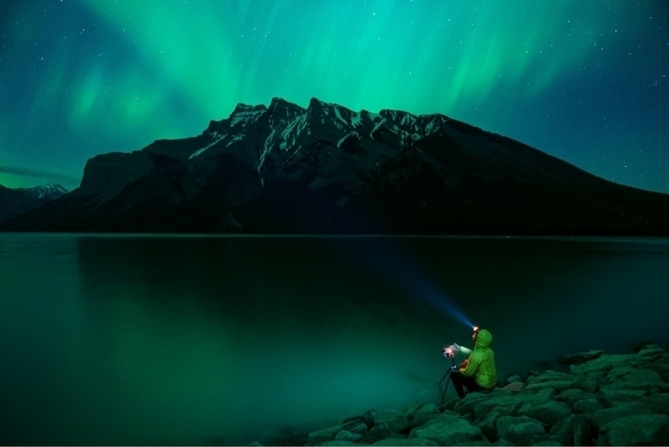 Photographing northern lights m - peteramend | ello