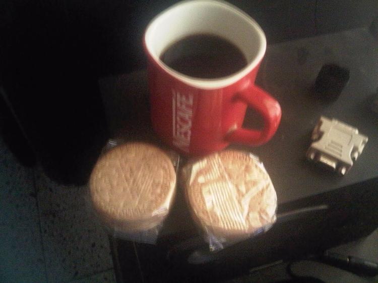 Cafe con galletas maria - happyness - fulgore00   ello