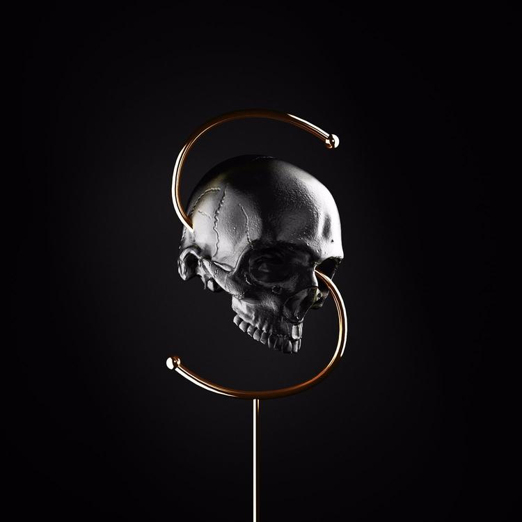throwback skull - 36daysoftype. - mahhhhrk   ello