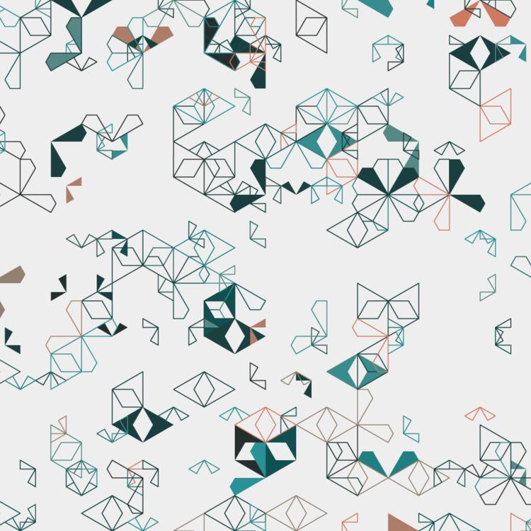 Geometric Shapes / 170613 - processing - sasj | ello