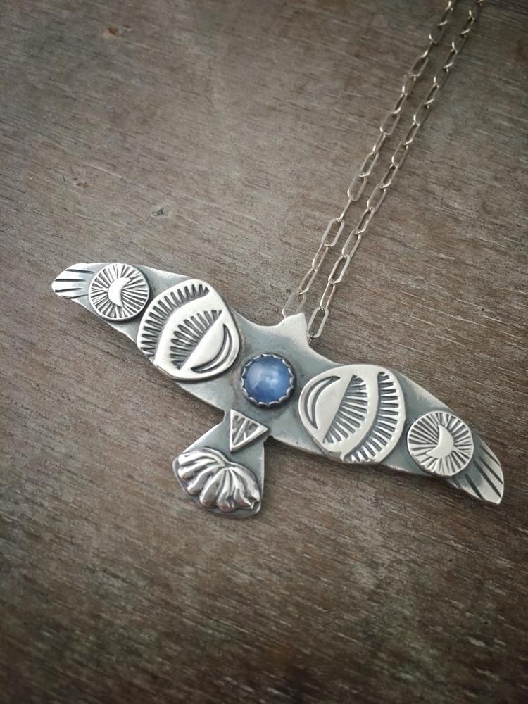 Kyanite Sky Bird - skybird, kyanite - proxartist | ello
