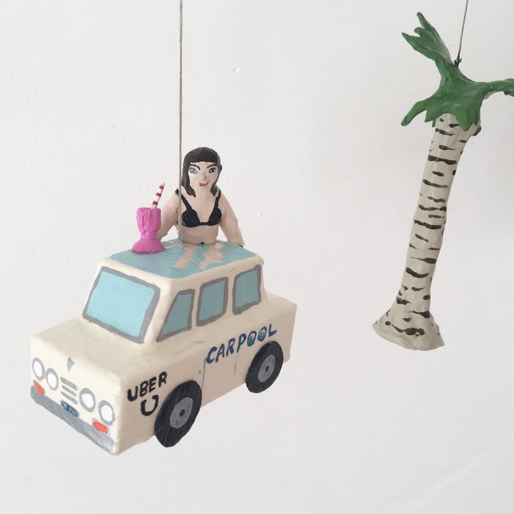 Cruising LA Carpool black bikin - jikits | ello