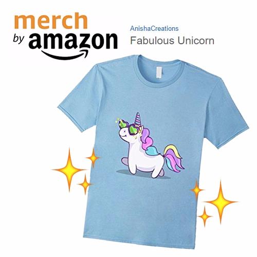 normal FABULOUS - cute, unicorn - anishacreations   ello