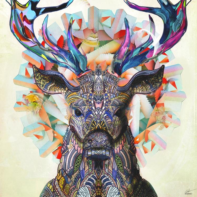 Unconfined - art, illustration, digitalart - archannair | ello