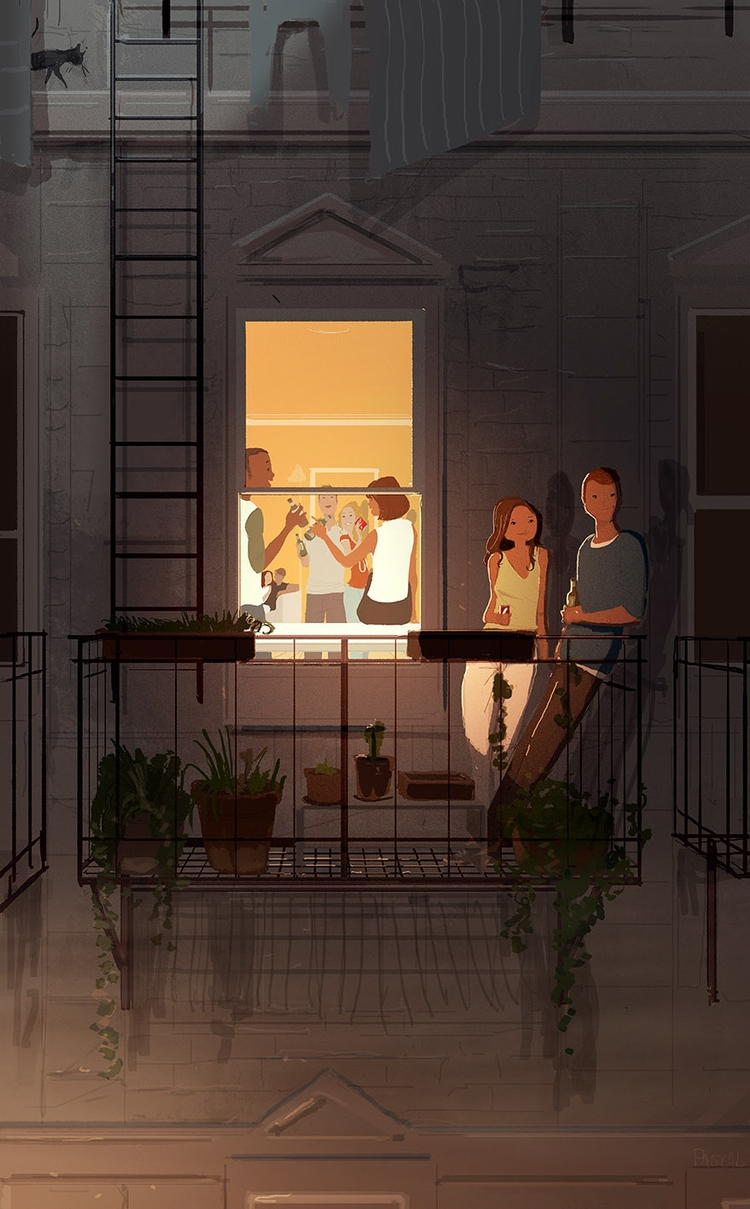 Summer nights friends - pascalcampion - pascalcampion | ello