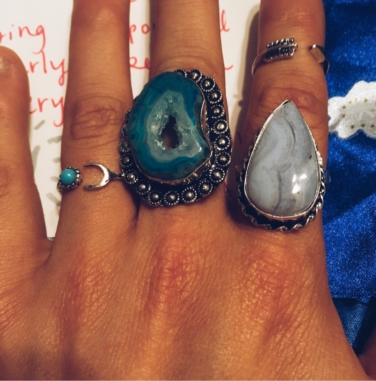 rings beautiful person!! extra  - gypsyxjewels | ello