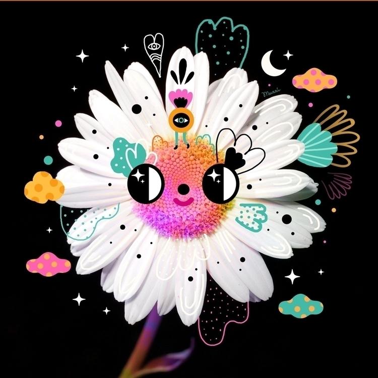 Daisy - magicalflowers, muxxi, digitaldrawings - muxxi | ello