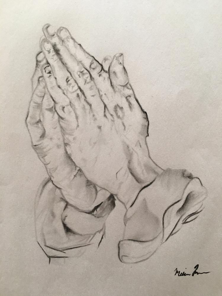 Praying Hands- Melissa Romeo Fi - missymel6 | ello