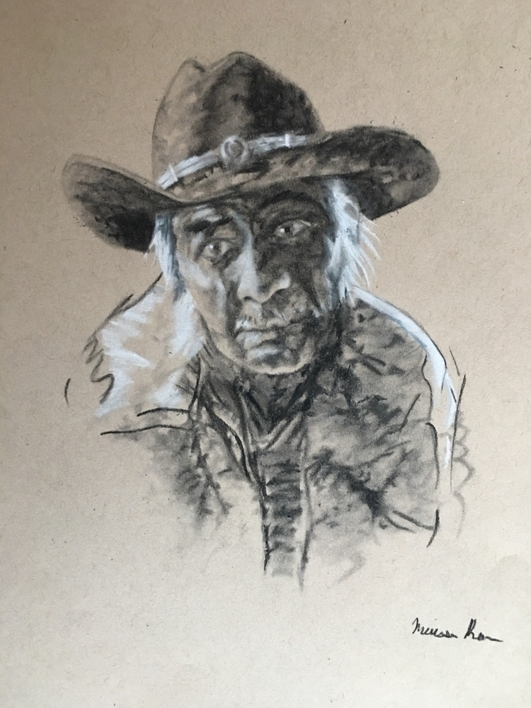 Man Cowboy Hat- Melissa Romeo F - missymel6 | ello