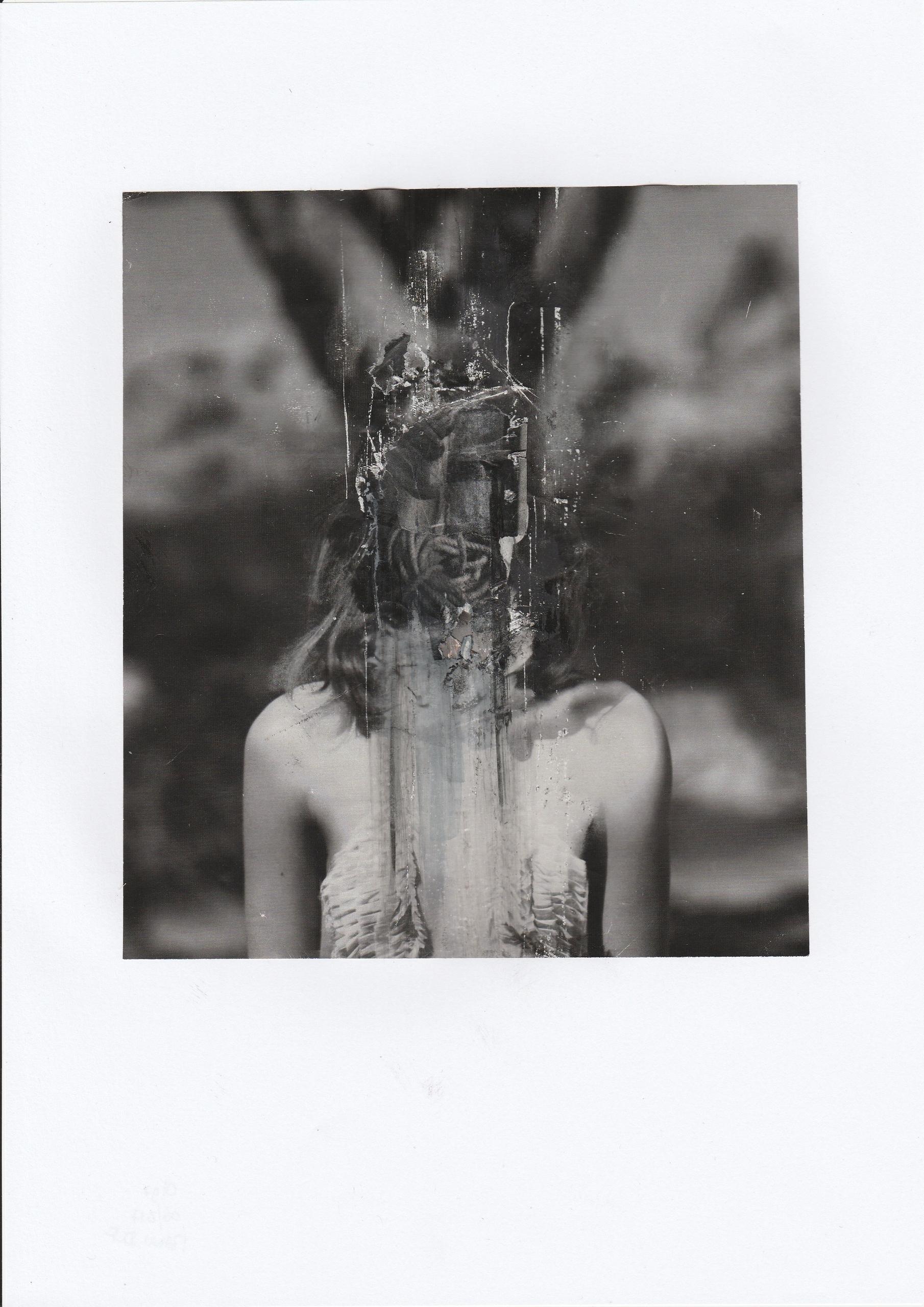 Olga - Handmade collage - portrait - manuduf | ello