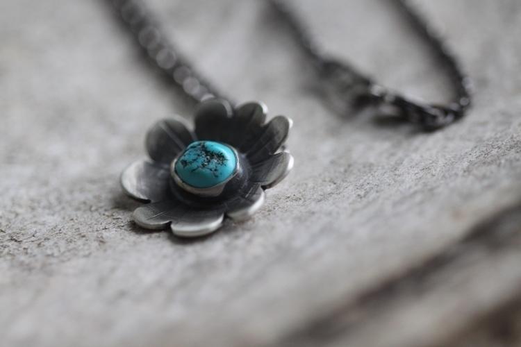 turquoise, handmade, silversmith - silverbrookstudios | ello