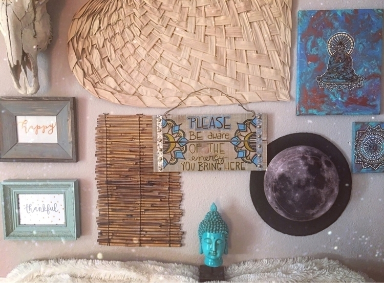 hand barn wood - moonphaseart, boho - thatgirlstayce | ello