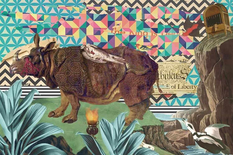 Digital Collage - 60x40cm Absol - marcellisboa | ello