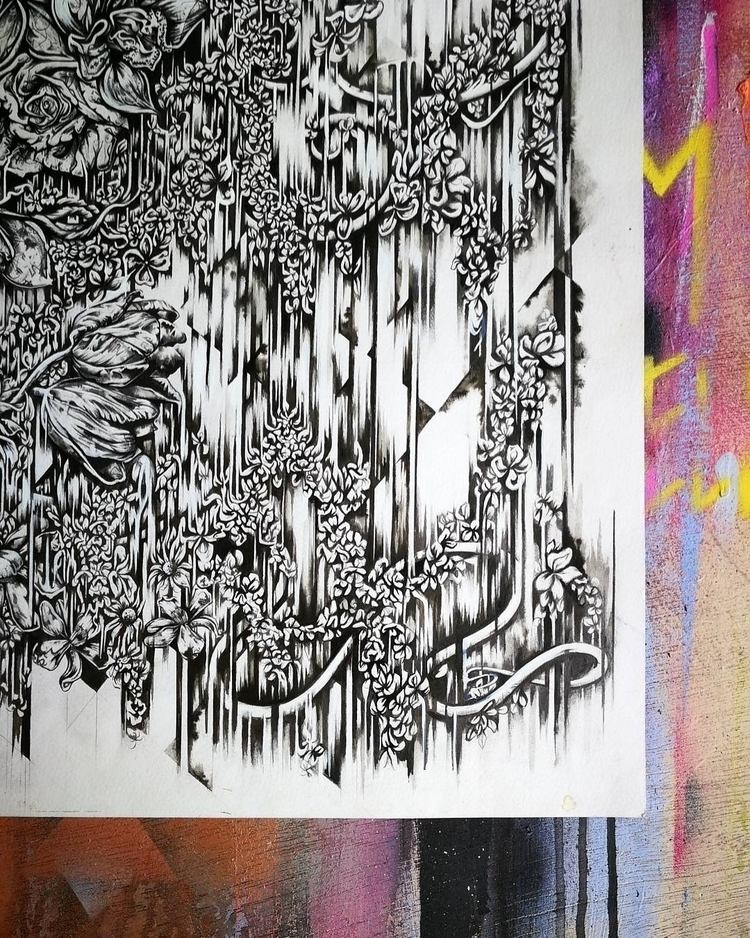Time fill blurr - art, drawing, illustration - femsorcell   ello