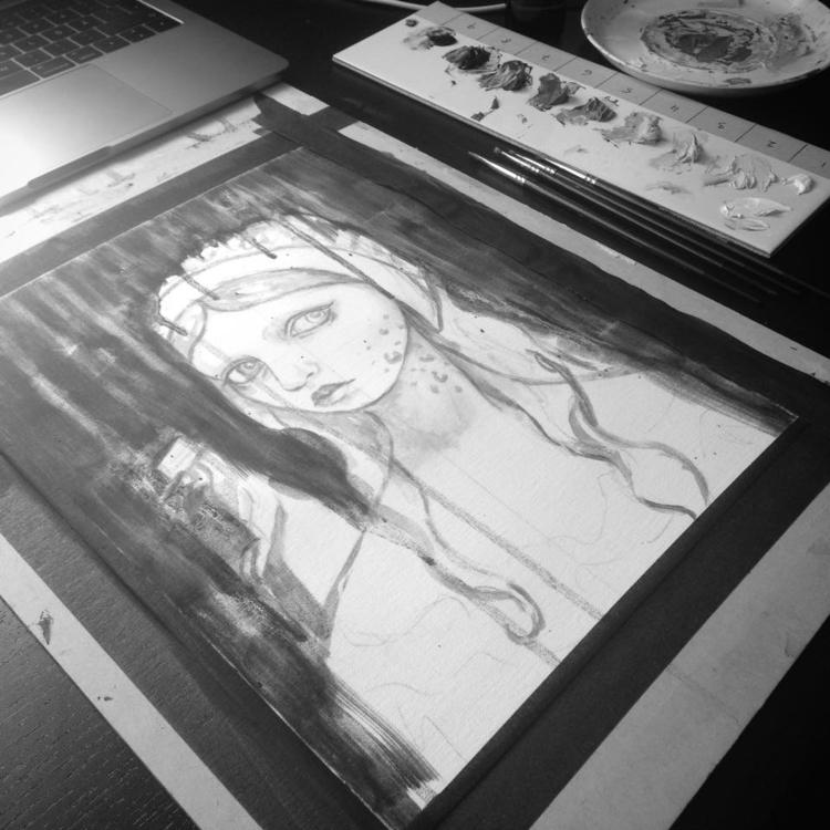 started Memento Tea Art Collect - sandrahultsved | ello