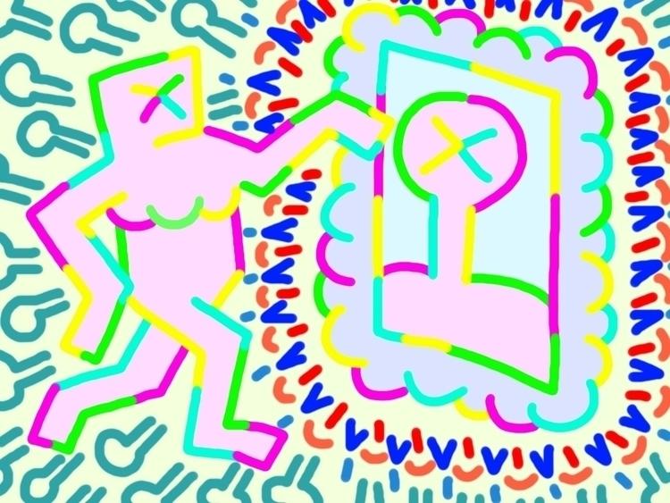 mirror - color#art#illustration - nysometimes | ello
