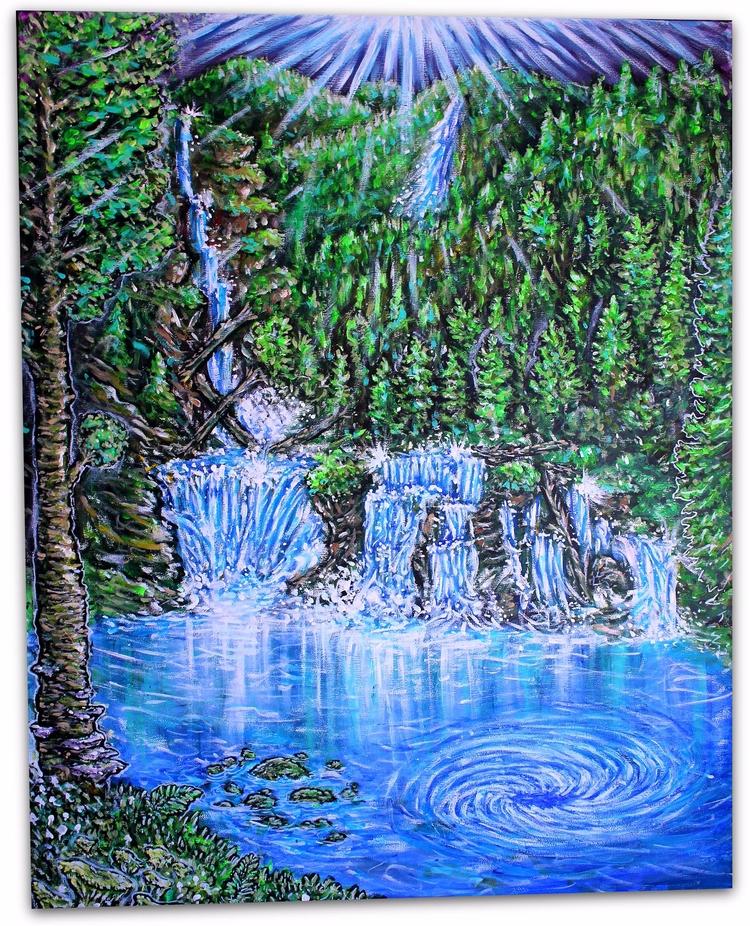 piece canvas, called Story Gire - lookupcatnip | ello