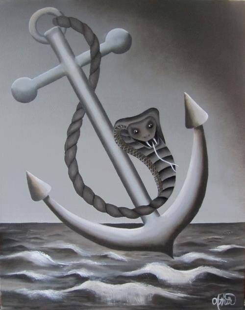 Painting Torrid Bay, Oil Canvas - athir   ello