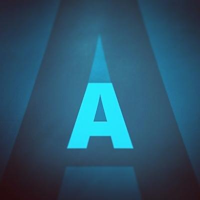 Aa, blue, illustration, vignette - metaimago | ello