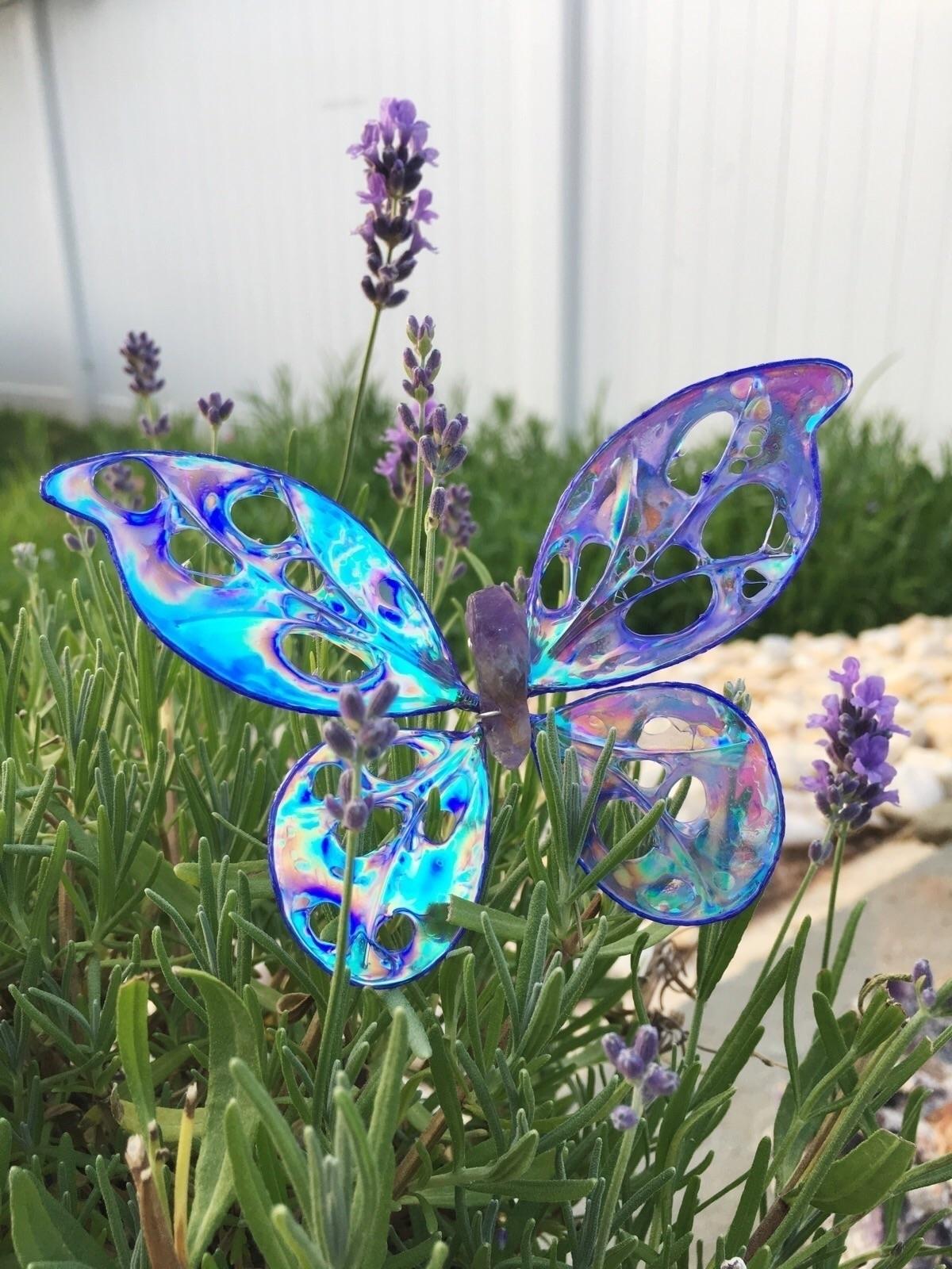 Lavender lavender winged butter - faerieblessings | ello